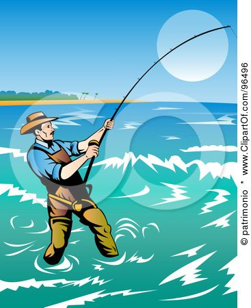 Clipart surfcasting graphic library stock surfcasting | Fishing & Hunting in 2019 | It cast, Free games for ... graphic library stock