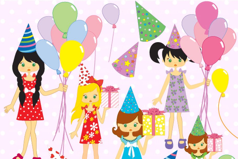 Surprise birthday pictures clipart picture transparent stock Birthday Party Clipart AMB-251 picture transparent stock
