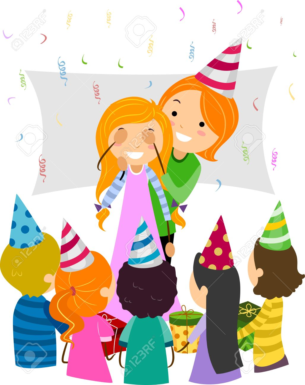Clipart surprise birthday party vector royalty free library Surprise birthday party clipart - Clip Art Library vector royalty free library