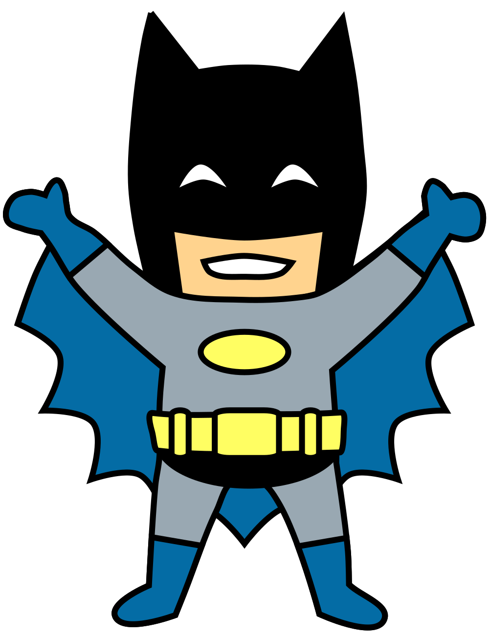 Clipart svg clipart black and white download File:Batman Clipart.svg - Wikimedia Commons clipart black and white download
