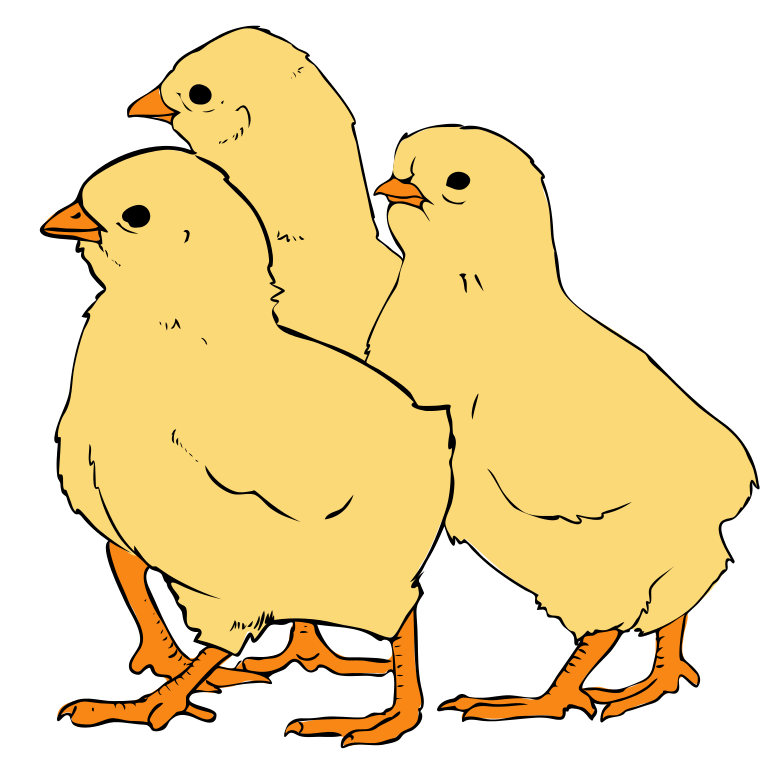 Clipart svg image royalty free File:Chicks clipart 01.svg - Wikipedia image royalty free