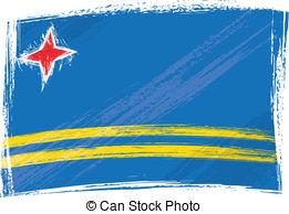 Clipart svg aruba flag jpg royalty free library Clipart of flag of aruba - ClipartFest jpg royalty free library