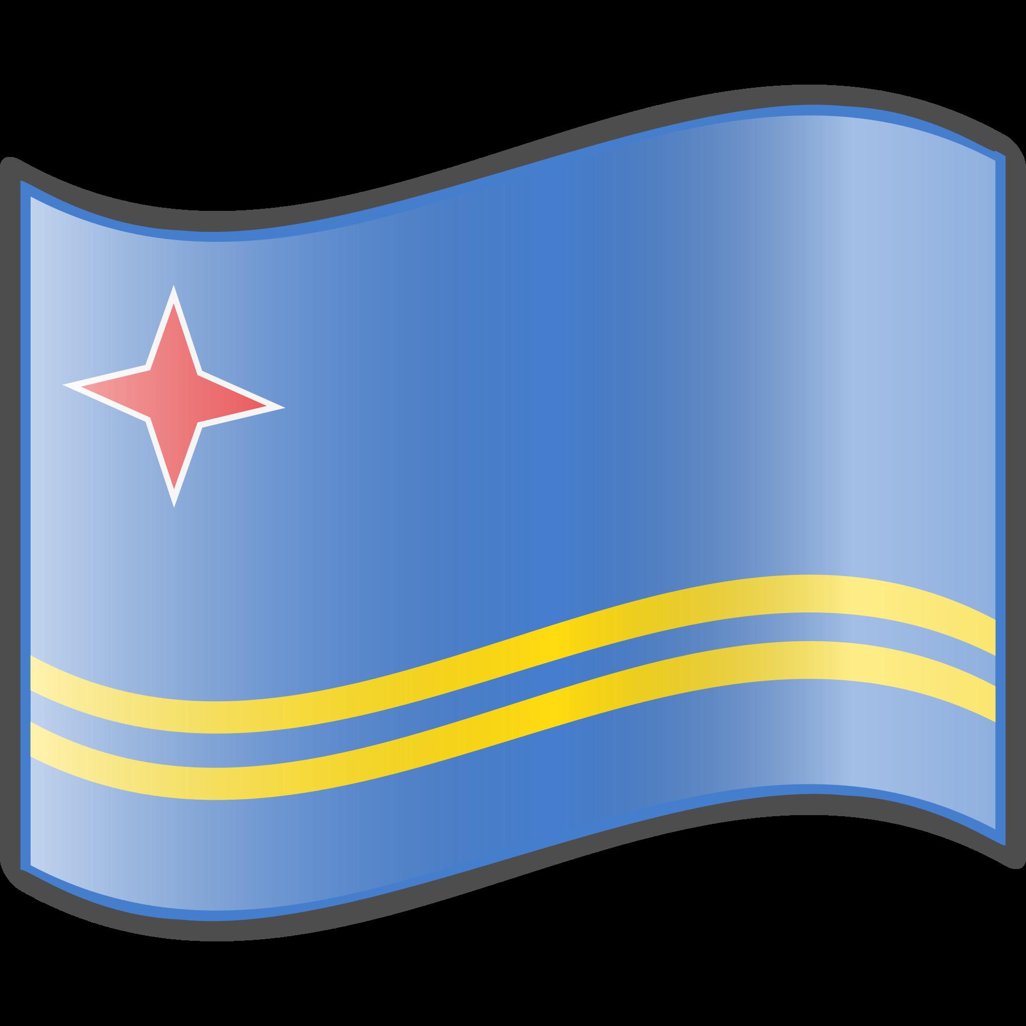 Clipart svg aruba flag clip art library library File:Nuvola Aruban flag.svg - Wikimedia Commons clip art library library