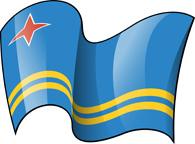 Clipart svg aruba flag svg royalty free stock Clipart of aruba flag - ClipartFox svg royalty free stock