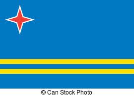 Clipart svg aruba flag jpg royalty free download Clipart of flag of aruba - ClipartFest jpg royalty free download