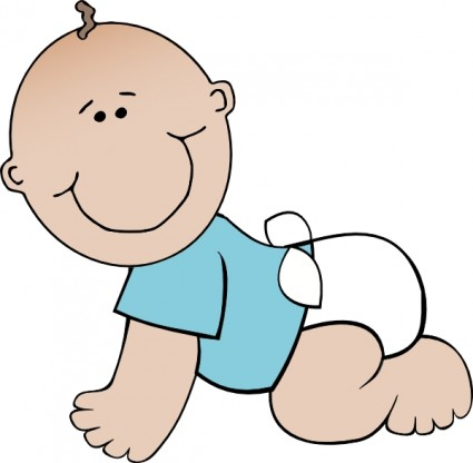 Clipart svg office image free Baby boy crawling clip art free vector in open office drawing svg ... image free