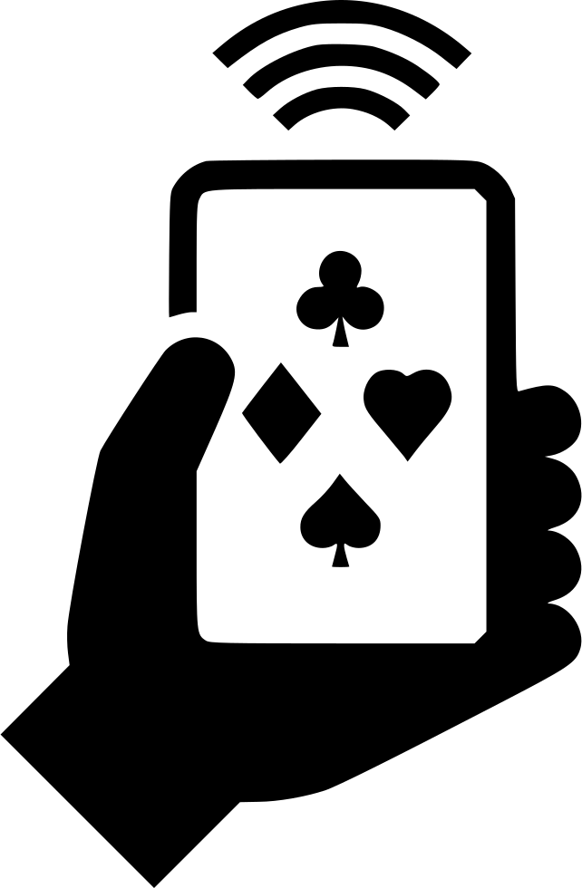 Clipart svg online jpg free Online Gambling On Smartphone Svg Png Icon Free Download (#549569 ... jpg free