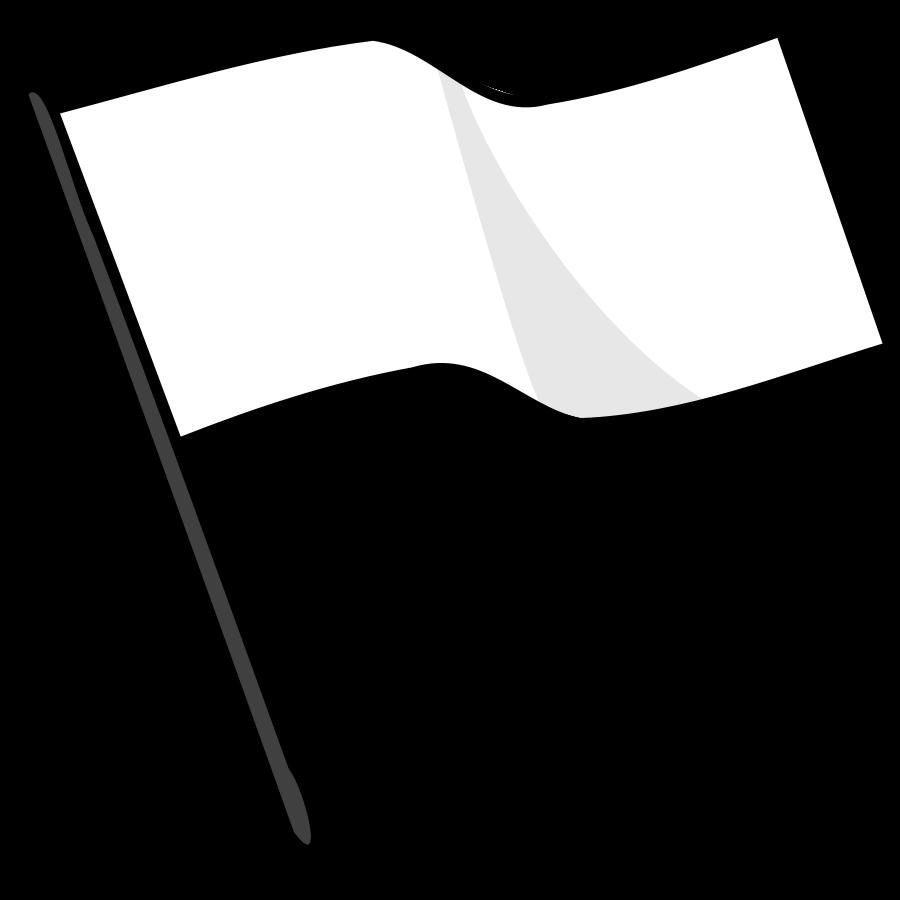 Clipart svg trinidad flag png download Waving White Flag SVG Vector file, vector clip art svg file ... png download