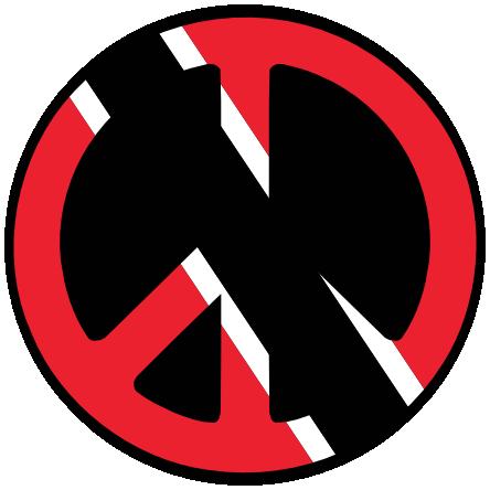 Clipart svg trinidad flag svg royalty free clipartist.net » Clip Art » Trinidad Tobago Peace Symbol Flag Cnd ... svg royalty free