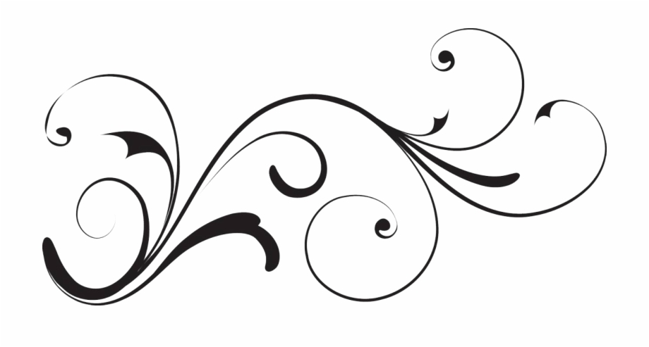 Clipart swerls svg transparent download White Decorative Swirl Clipart With No Background Uploaded ... svg transparent download