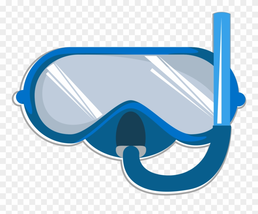 Clipart swimming goggles banner freeuse stock Goggles Clipart Water - Swimming Goggles Clipart - Png Download ... banner freeuse stock
