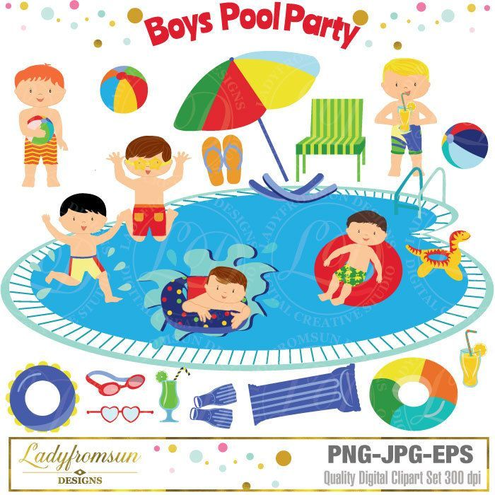 Clipart swimming pool party clipart download Clipart swimming pool party 3 » Clipart Portal clipart download