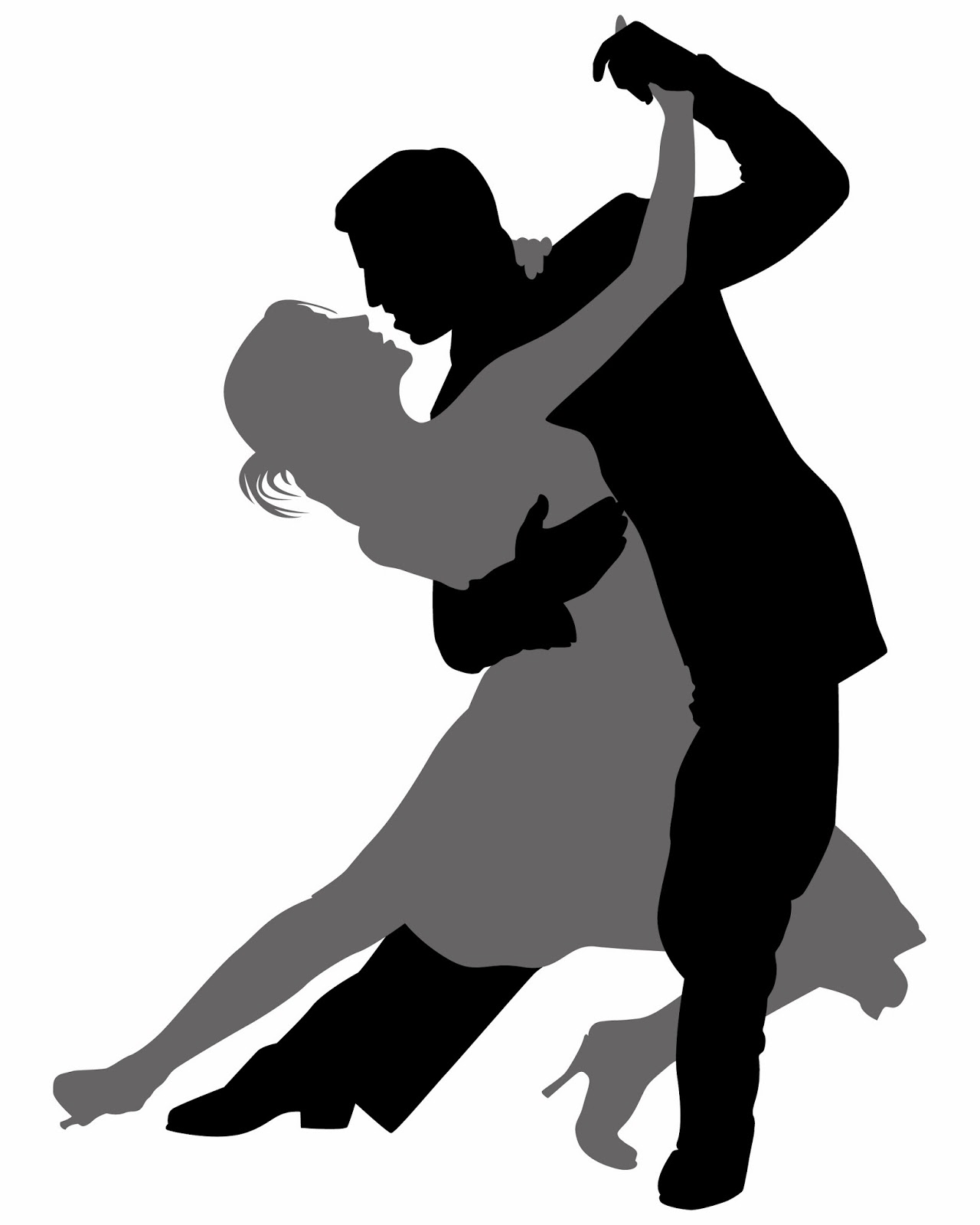 Clipart swing dance graphic black and white library Ballroom Dance Into Spring The Record clipart free image graphic black and white library