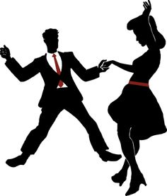 Clipart swing dance banner black and white download Free Swing Dancing Cliparts, Download Free Clip Art, Free Clip Art ... banner black and white download