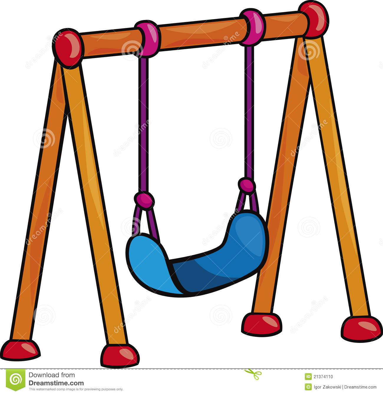 Clipart swing set graphic royalty free library Swing set clipart 2 » Clipart Station graphic royalty free library