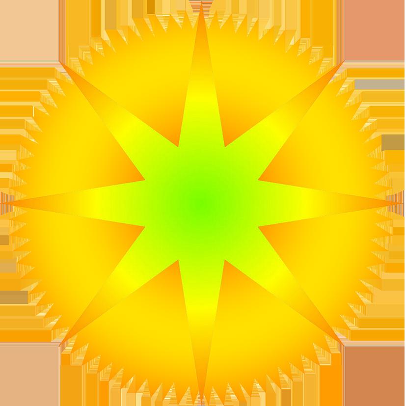 Clipart swirl sun svg stock Star Clipart svg stock