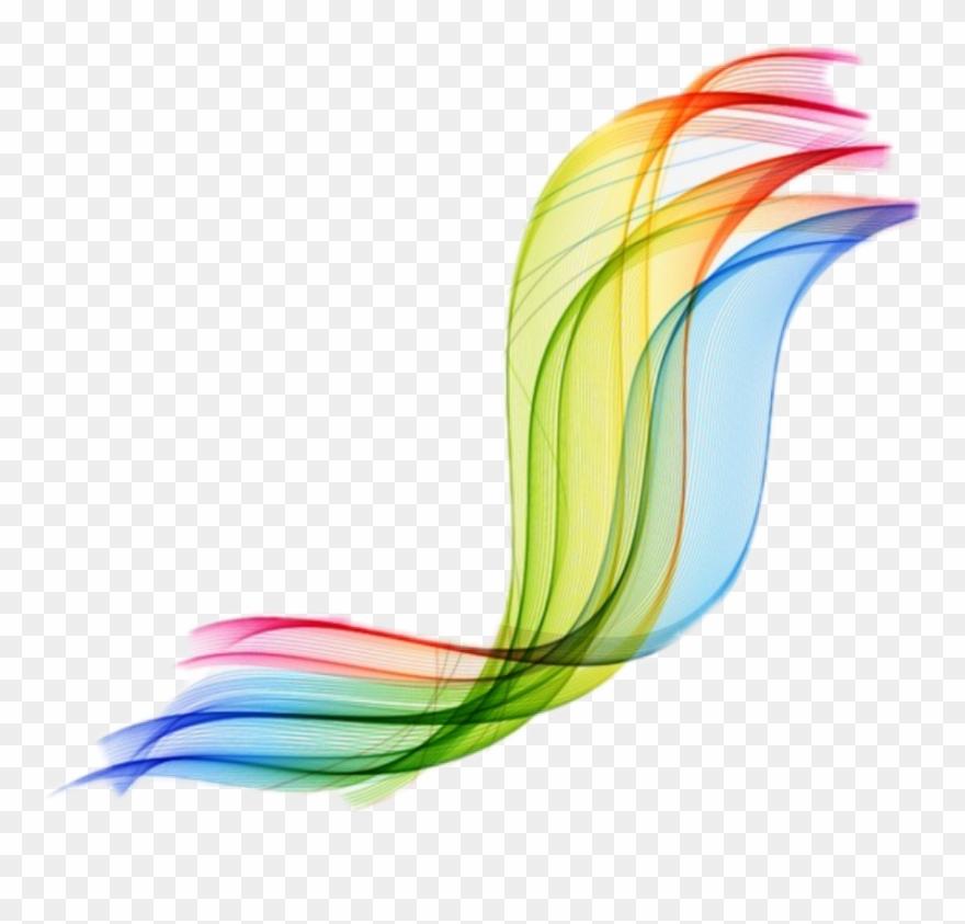 Clipart swoosh graphic black and white Rainbow Vector Swirl Swoosh - Swoosh Swirl Transparent Background ... graphic black and white