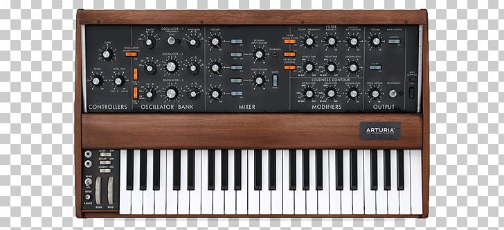 Clipart syth svg library library Minimoog Sound Synthesizers Arturia Mini V Virtual Modelling Synth ... svg library library
