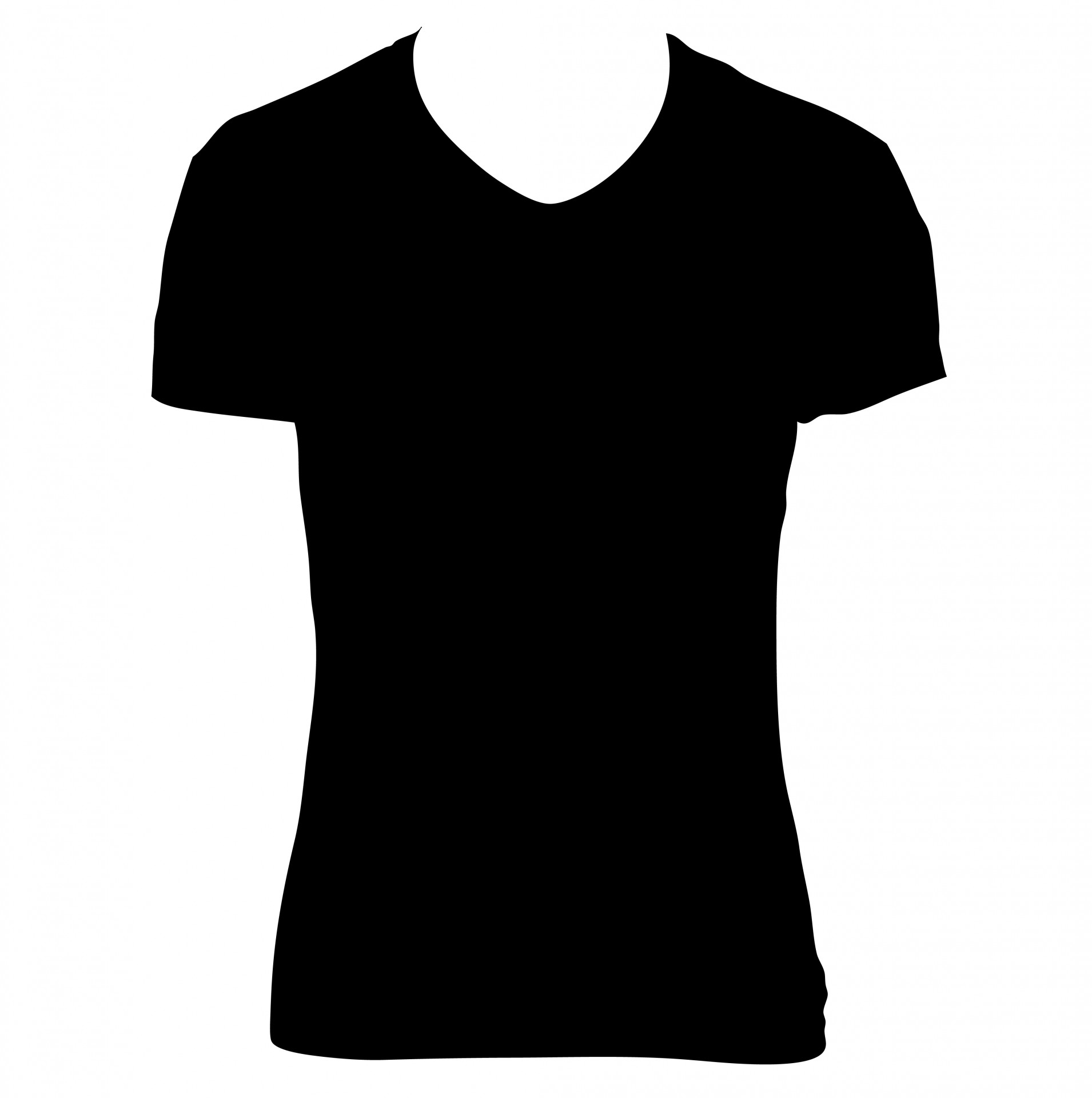Black T-shirt Clipart Free Stock Photo - Public Domain Pictures graphic free