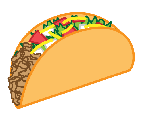 Taco clipart free banner freeuse library Pin by Rosie In Recovery on DIY - Martha Wannabe | Taco clipart ... banner freeuse library
