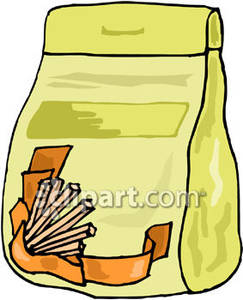 Take out food clipart png transparent library Bag of Take-Out Food - Royalty Free Clipart Picture png transparent library