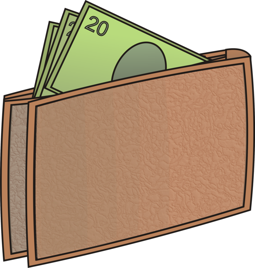 Clipart taking money out of wallet picture library library Money Wallet 2 by MasterJS on DeviantArt picture library library