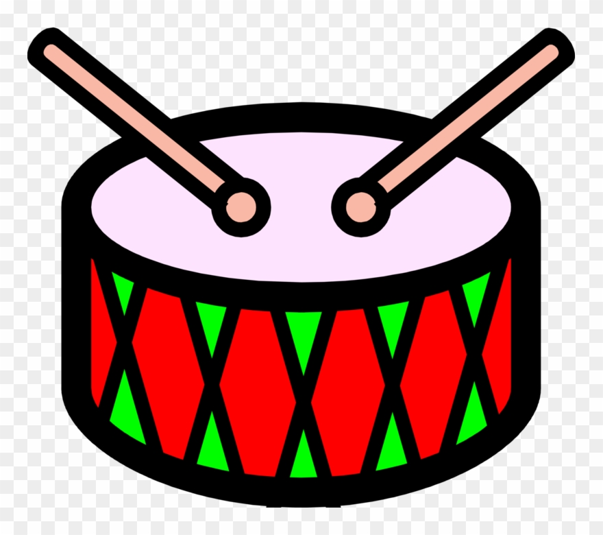 Clipart tambor jpg library download Banner Royalty Free Library Drum Percussion Instrument - Tambor ... jpg library download