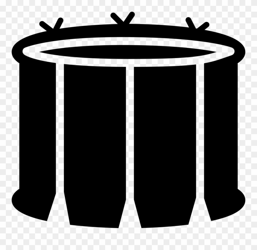 Clipart tambor picture library Snare Drum With White Lines Svg Png Icon Free Download - Tambor Icon ... picture library