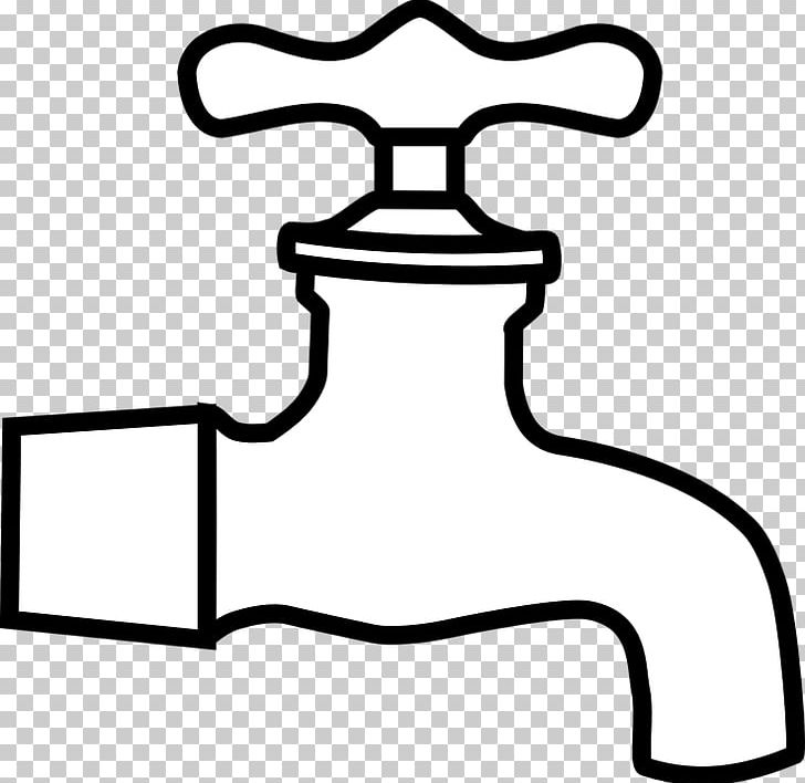Tap water clipart image library stock Tap Water Plumbing PNG, Clipart, Angle, Black, Black And White ... image library stock