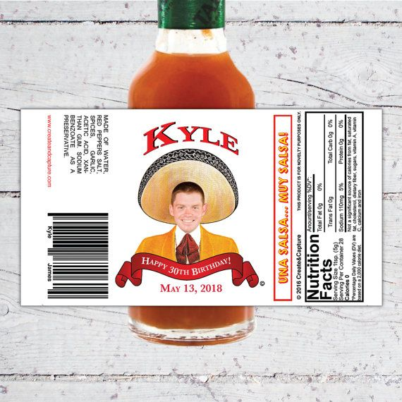 Clipart tapatio png freeuse Tapatio Style Custom Hot Sauce Favor Labels | Birthday, Special ... png freeuse
