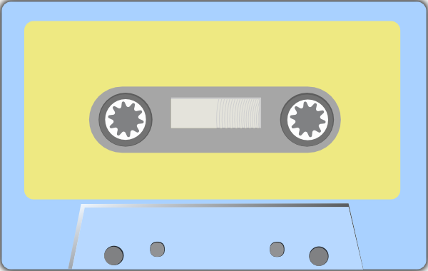 Clipart tape recorder image library stock Audio Tape Clip Art at Clker.com - vector clip art online, royalty ... image library stock