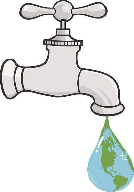 Clipart water faucet svg download Water Out Of Faucet Clipart & Free Clip Art Images #33279 ... svg download