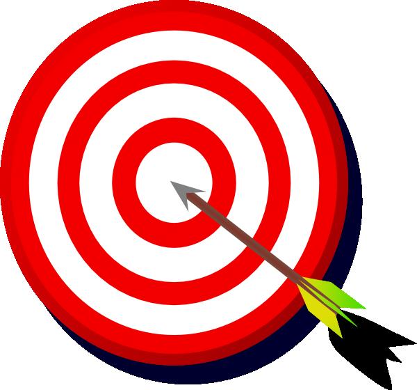 Clipart target bullseye banner black and white Target Bullseye Clipart - Clipart Kid banner black and white