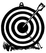 Clipart target bullseye vector library Target Bullseye Clipart - Clipart Kid vector library