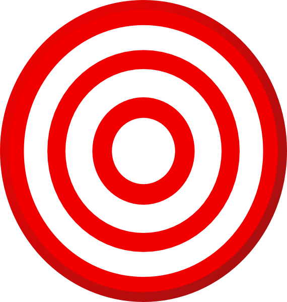 Clipart target bullseye clipart freeuse download Target Bullseye Clipart - Clipart Kid clipart freeuse download