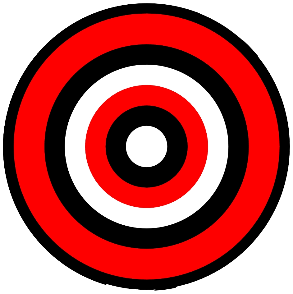 Clipart target bullseye svg library download Learning Target Bullseye Clipart - Clipart Kid svg library download