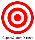 Clipart target bullseye picture transparent stock Bullseye clipart free - ClipartFest picture transparent stock