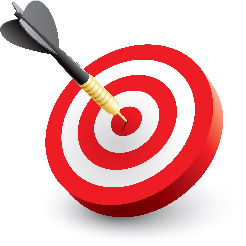 Clipart target bullseye clipart free Bullseye clipart - ClipartFest clipart free