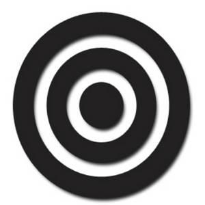 Clipart target bullseye graphic free Target bullseye clipart free - ClipartFest graphic free