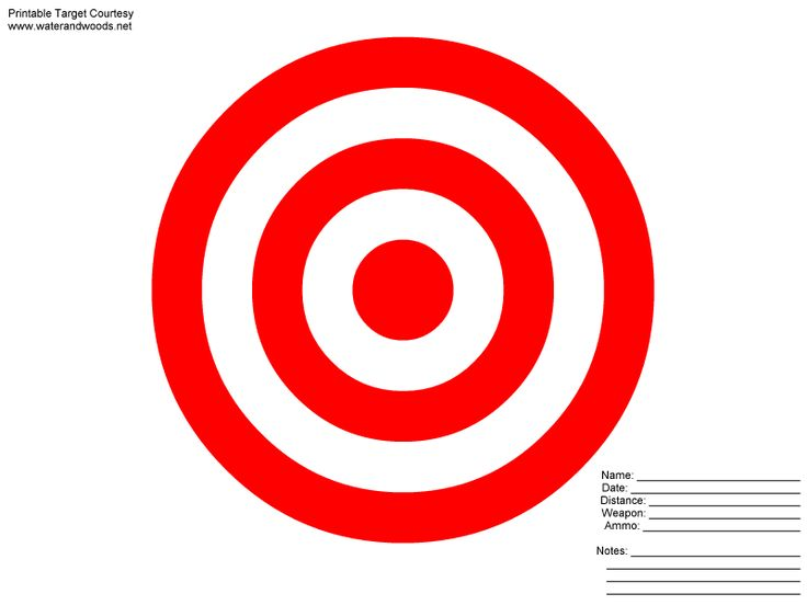 Clipart target shooting png transparent stock 8X11 Printable Targets | Powerpoint Animation Clip Art Target You ... png transparent stock