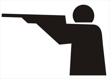 Clipart target shooting clip art library stock Clip Art Shooting Target Clipart - Clipart Kid clip art library stock