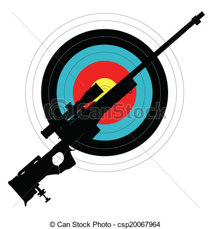 Clipart target shooting vector freeuse Target shooting Illustrations and Clip Art. 8,809 Target shooting ... vector freeuse