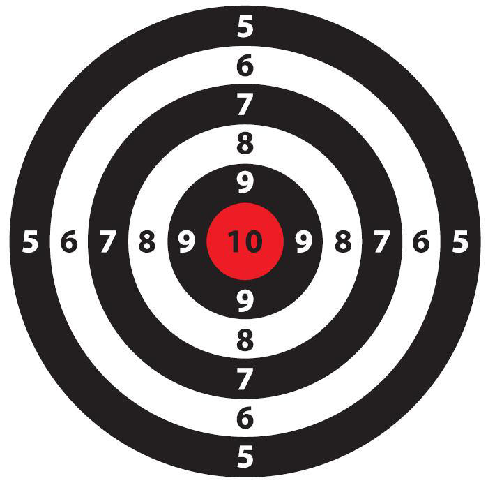 Clipart target shooting png download Bullseye Target Shooting Group Picture Image By Tag #QARLWQ ... png download