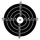Clipart target shooting clipart transparent stock Shooting Target Clip Art - Royalty Free - GoGraph clipart transparent stock