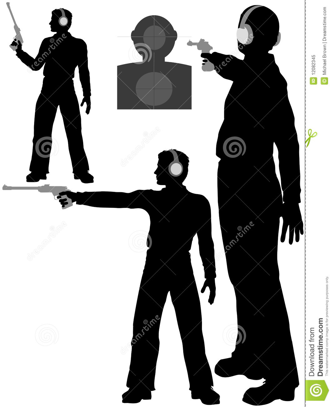 Clipart target shooting download Free clipart man with gun target shooting - ClipartFest download