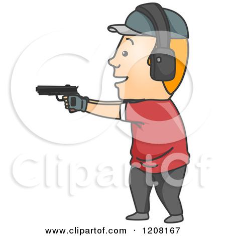 Clipart target shooting clip art royalty free Royalty-Free (RF) Shooting Range Clipart, Illustrations, Vector ... clip art royalty free