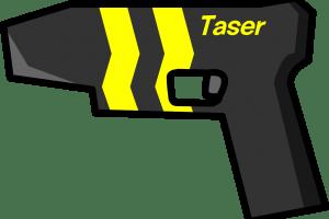 Clipart taser graphic black and white stock Taser clipart » Clipart Portal graphic black and white stock