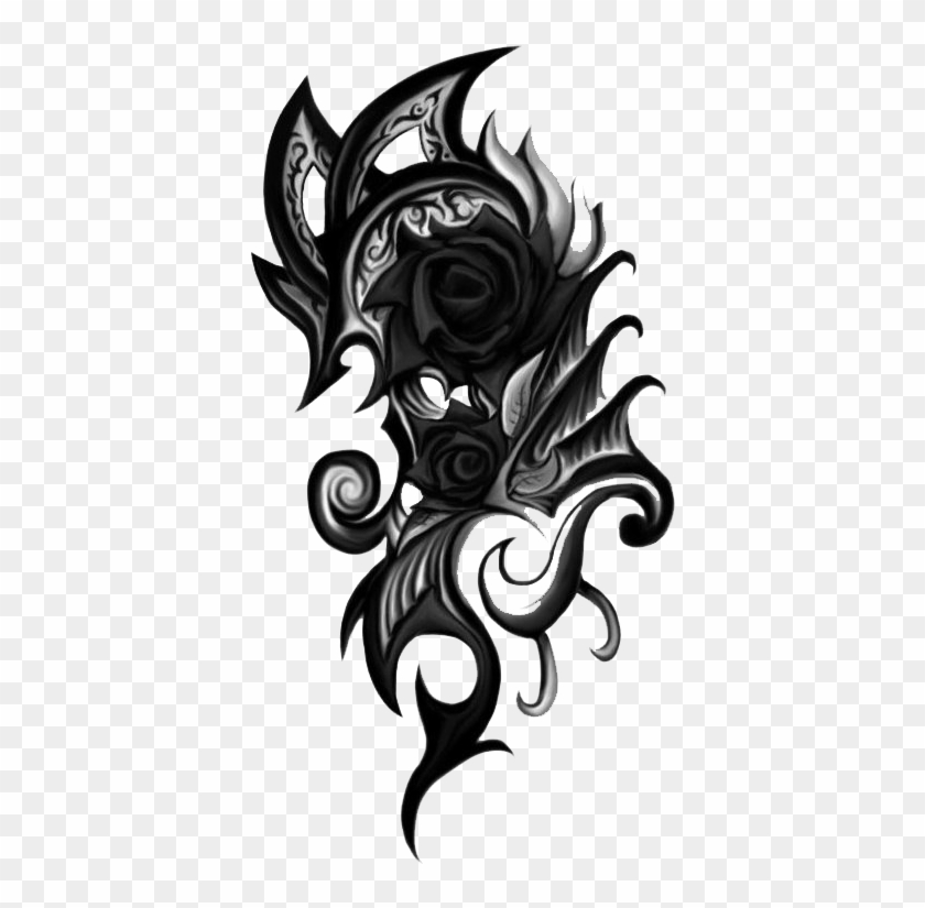 Clipart tattoo effect banner black and white download Good Png Tattoos For Editing With Png Effects For Photo - Tattoo ... banner black and white download
