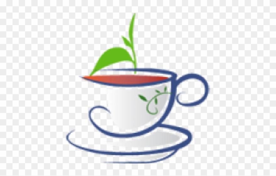 Clipart tea svg free stock Green Tea Clipart Mint Tea - Organic Tea Clip Art - Png Download ... svg free stock