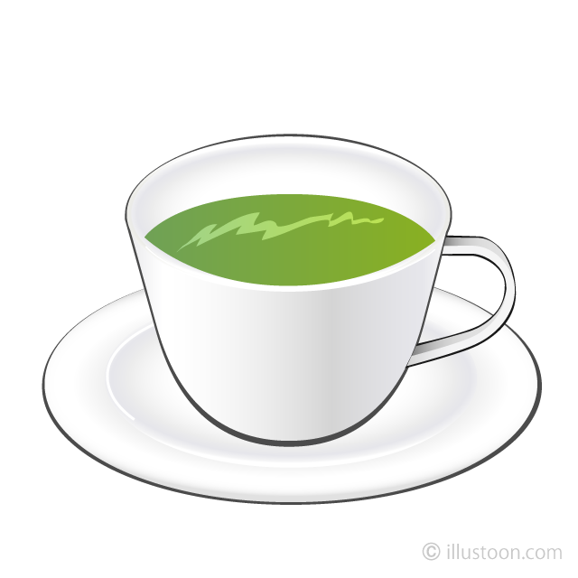 Clipart tea picture library download Green Tea Clipart Free Picture|Illustoon picture library download